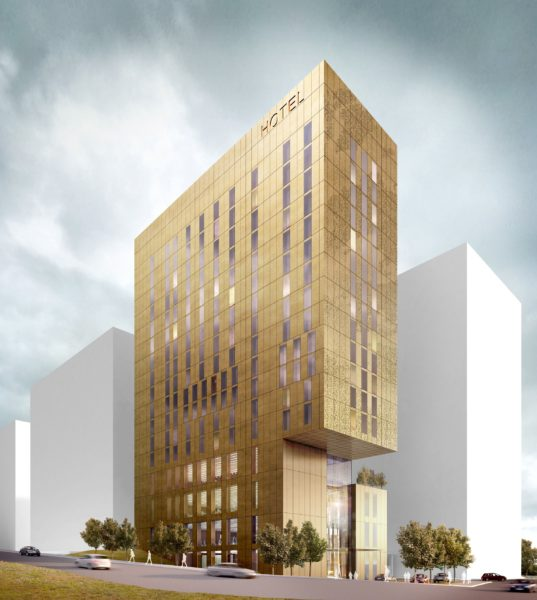 NEW CGI of Paddington Village Hotel in KQ Liverpool
