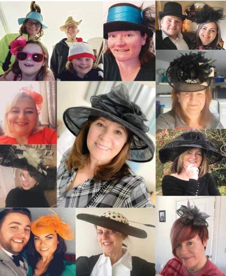 Aintree Races Lockdown Hat Day